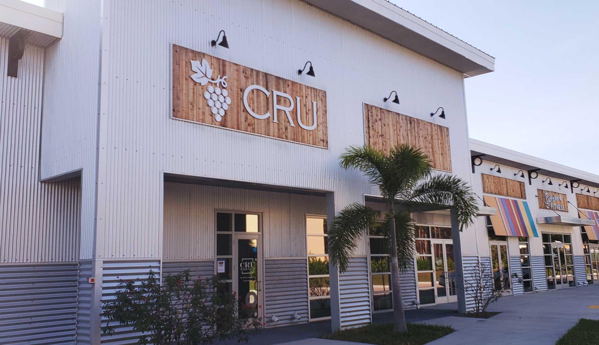 CRU Wine Club Bonita Springs Wine Tasting Store Front | CRU Wine Club